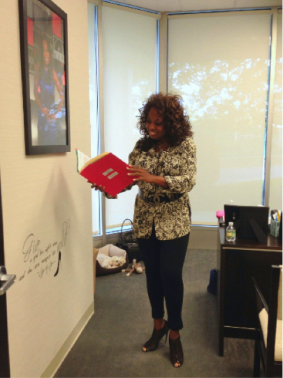 Star Jones - NAPW Office