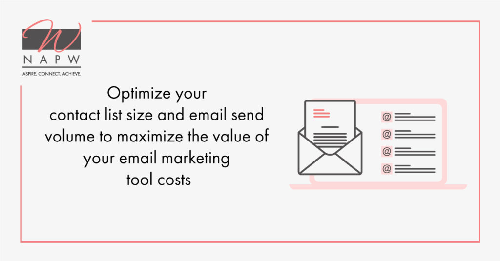 minimize email costs for your business tips